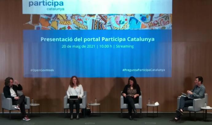Presentació de ParticipaCatalunya.cat Font: Acció exterior