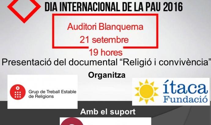 """Presentació documental """"Religió i convivència"""""""