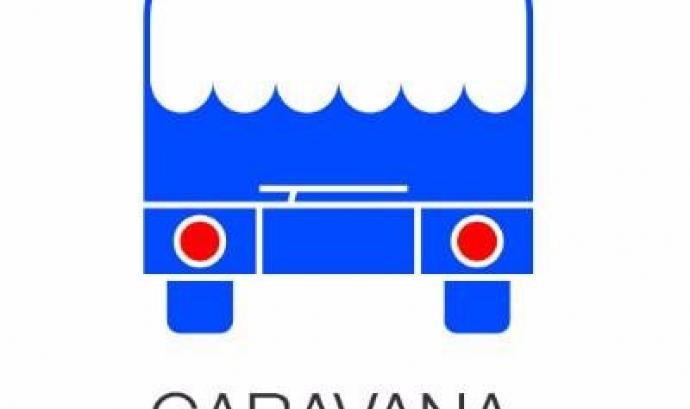 Logotipi de la Caravana a Grècia / Font: Caravana a Grecia, abriendo fronteras