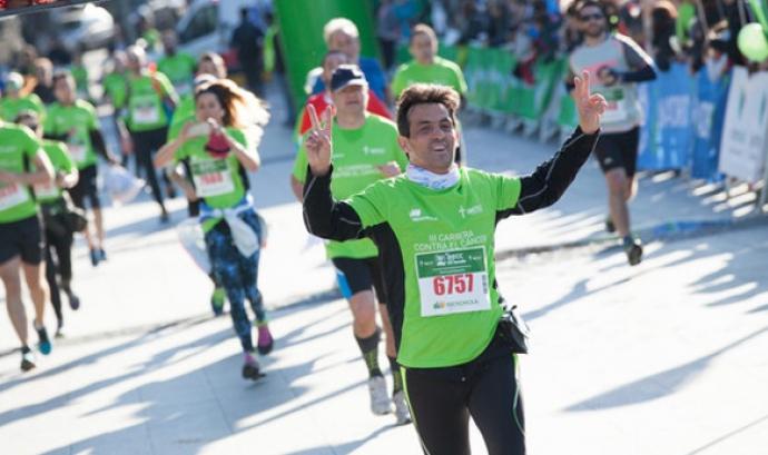 Arribada d'un dels corredors a la primera edició. Font: Woman