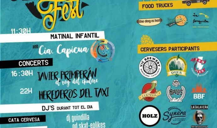 Primera Mostra de Cervesa Artesana i Cultura Popular de Nou Barris
