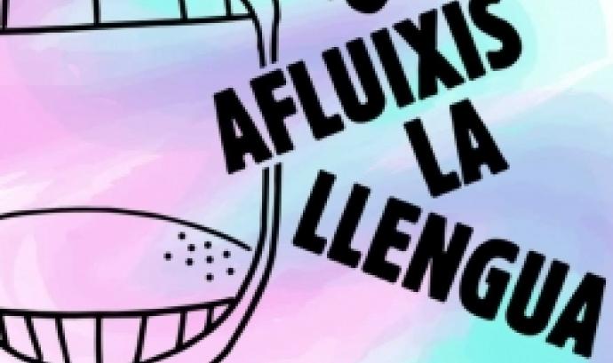 Acte de presentació del vlog 'No Afluixis la Llengua'