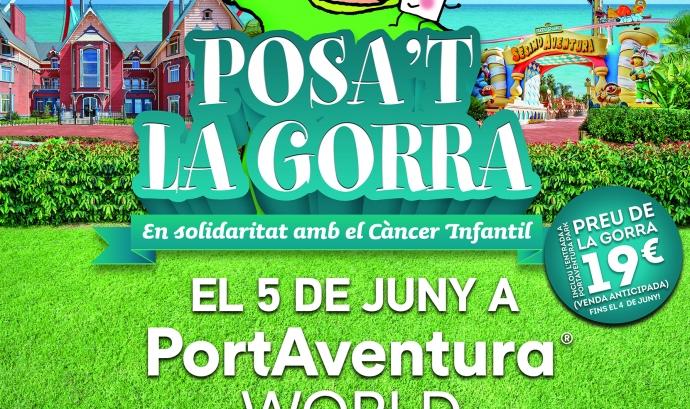 """""""Posa't la gorra!"""" a Port Aventura"""