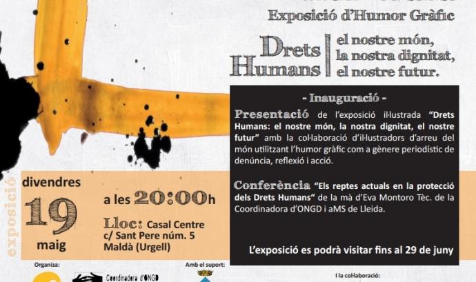 Cartell de l'esdeveniment. Font: Coordinadora d'ONGD i altres Moviments Solidaris de Lleida