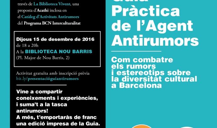 Presentació de l'edició actualitzada de la Guia Pràctica de l'Agent Antirumors
