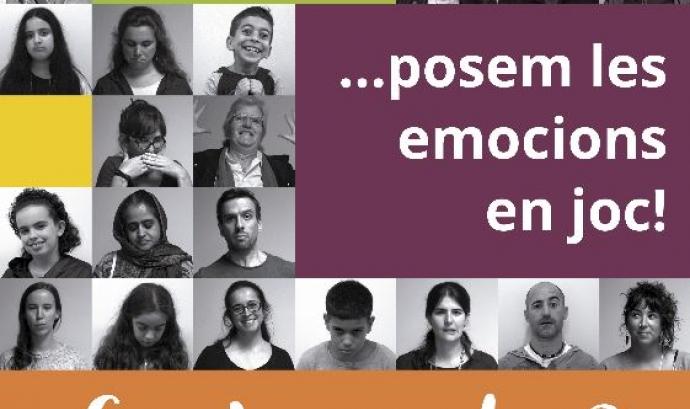 Cartell #EmocionsEnJoc.     Font: Fundació Salut Alta Font: