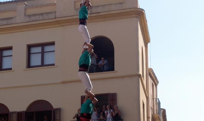 Castellers de Vilafranca (Foto: andresumida) Font: