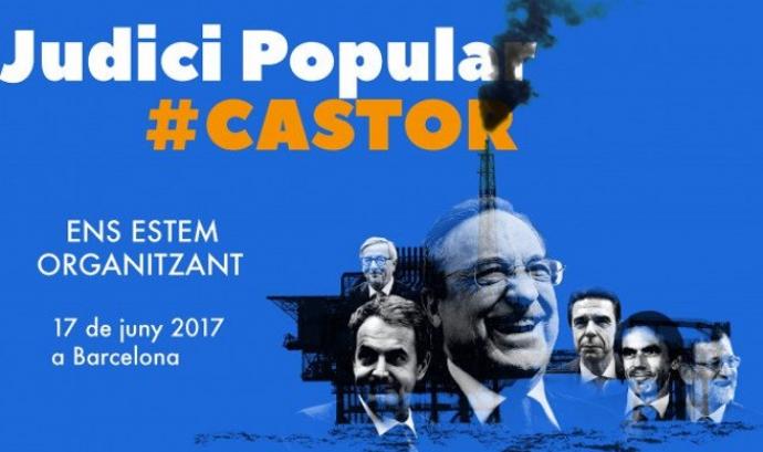 El 17 de juny se celebra el Judici popular al projecte Castor. Font: Observatori del Deute en la Globalització