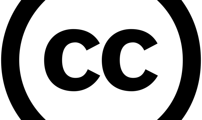 Dues ces és el símbol principal de les llicències Creative Commons Font: Creative Commons