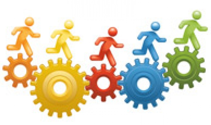 Logo Cens d'entitats de voluntariat. Font: web gencat.cat Font: