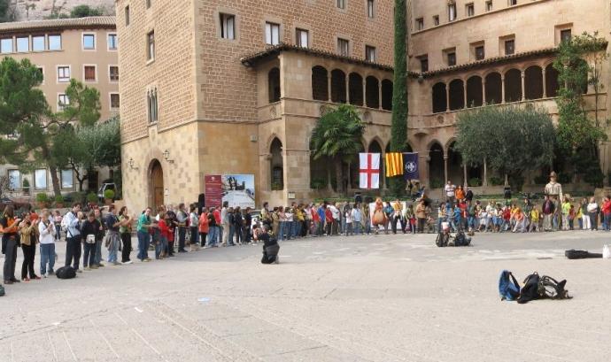 Celebració del Centenari de l'Escoltisme a Montserrat (2007).