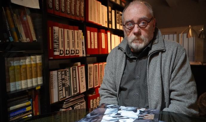 Jordi Marcet, president de l'Associació de Ceramistes de Catalunya Font: Marta Rius
