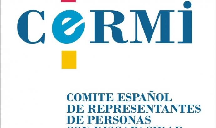 El logotip de CERMI. Font: CERMI