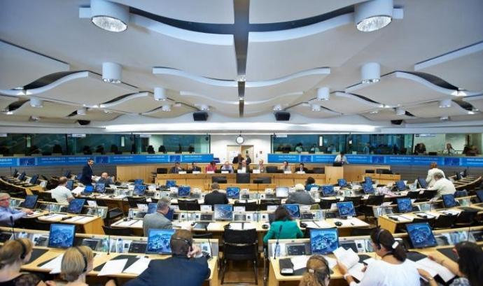 Comité Econòmic i Social (CESE). Font: Unión Europea en Perú a Flickr