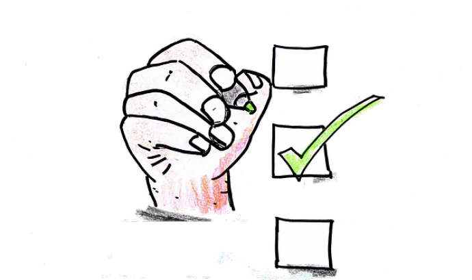 Autoavaluació. Imatge de Klietmann (Pixabay)