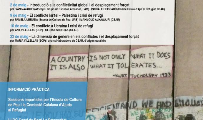 Conflictes i refugi. Comprendre les causes del desplaçament forçat