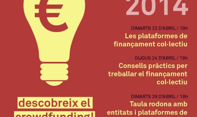 Cartell del Cicle de finançament privat 2014 del CRAJ