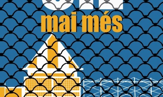 Cartell de convocatòria de la concentració del 30 de gener. Font: web tancaremelcie.cat Font: