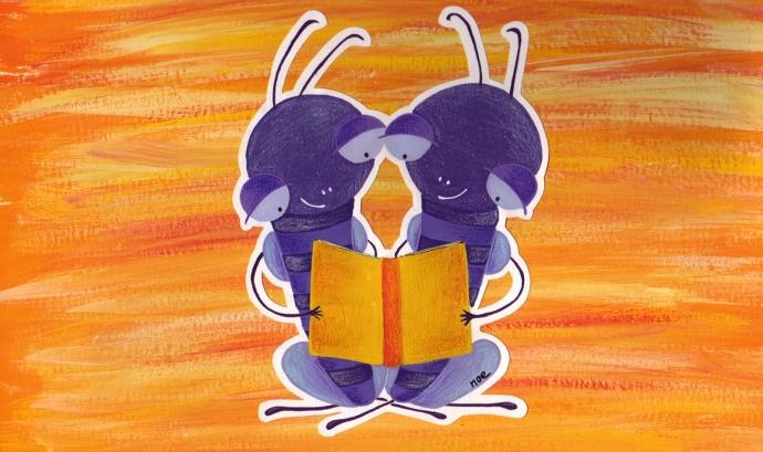 Cigales llegint - font: noebofarull.cat Font: