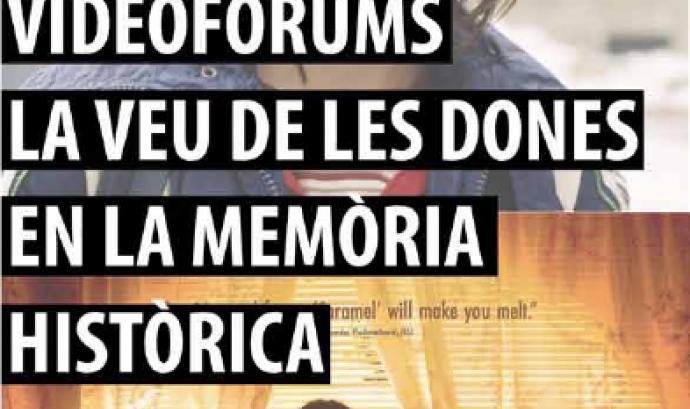 Cartell del cinefòrum La veu de les dones en la memòria històrica