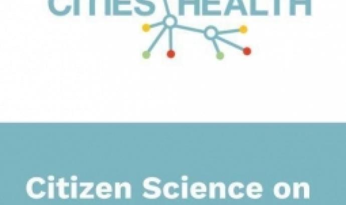 Presentació de projecte de ciència ciutadna Cities-Health el 28 de setembre a Barcelona