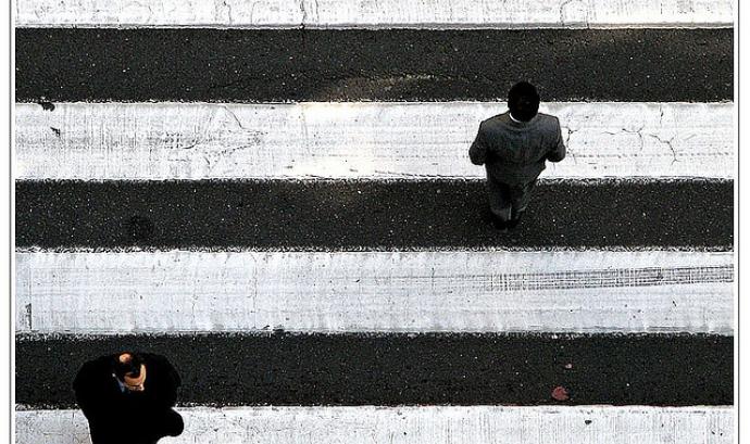Pas de zebra. Civisme_pasaro_Flickr