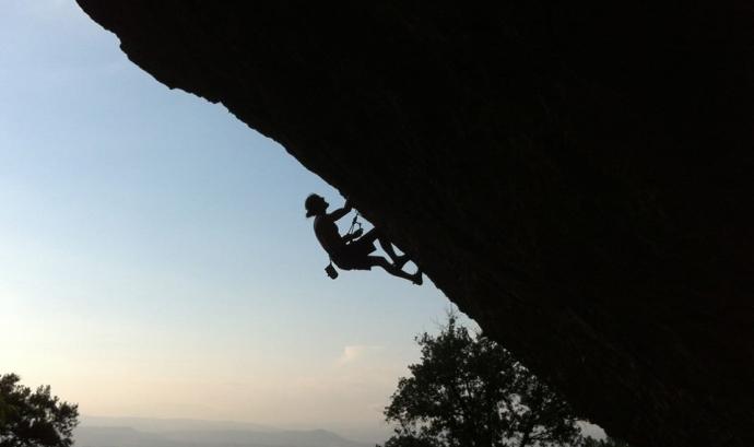 Climbing app, una app per els escaladors. Foto Miquel Verge