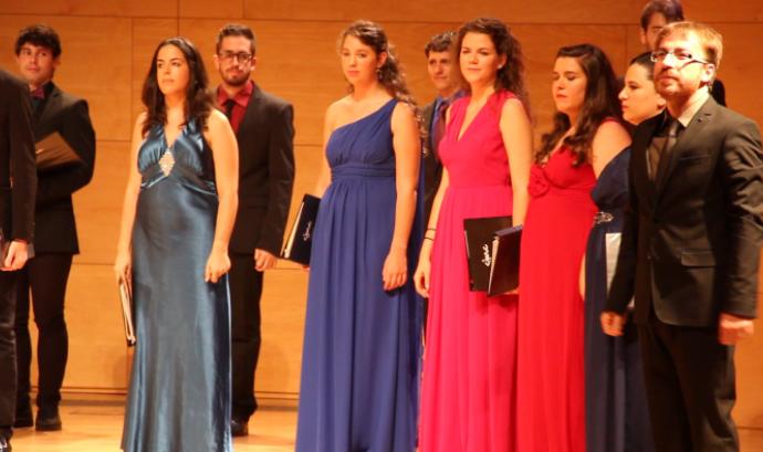 Imatge d'una de les edicions del Cor Nacional Jove de Catalunya (Foto: CNJC)