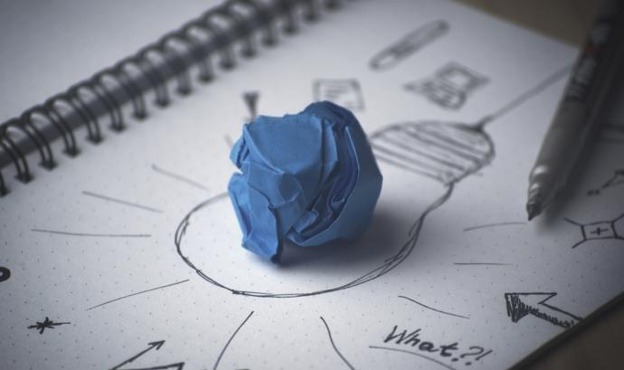 Il·lustració sobre com buscar solucions als reptes. Font: Pixabay