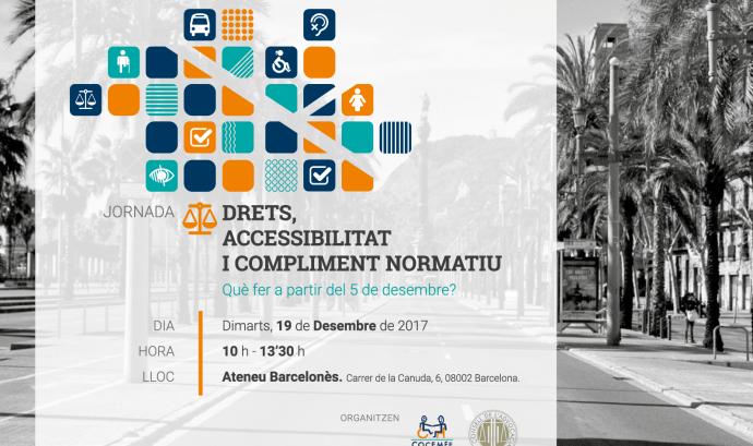 Drets, Accessibilitat i Compliment normatiu. Què fer a partir del 5 de desembre?'