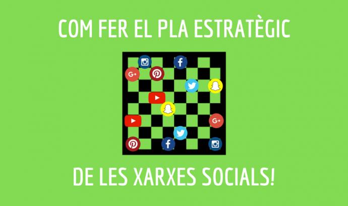 Com fer el pla estratègic de les xarxes socials de l'entitat Font: Associació per a Joves TEB