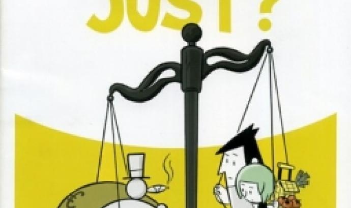Material didàctic sobre comerç just. Font: Xarxa de Consum Solidari