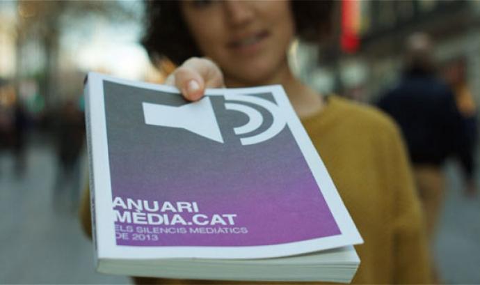 Anuari dels Silencis Mediàtics de l'Anuari Mèdia.cat Font: Grup de Periodistes Ramon Barnils