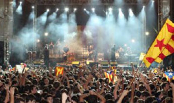 Concert d'Òmnium 11 de setembre 2011 Font: