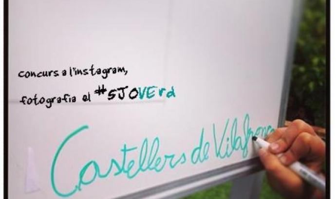 Concurs d'Instagram #5JOVErd dels Castellers de Vilafranca Font: