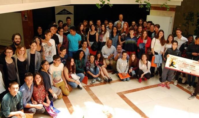 Foto de grup de participants en el concurs Font: