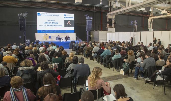 Conferència iniciat VI Congrès Taula del Tercer Sector