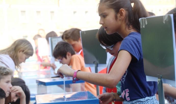 Enguany ha votat l'alumnat de 4t, 5è i 6è de Primària Font: Ajuntament de Mataró
