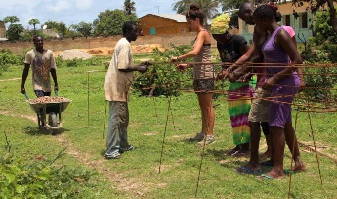 Construcció d'escoles públiques al Senegal (CCD UPC) Font:
