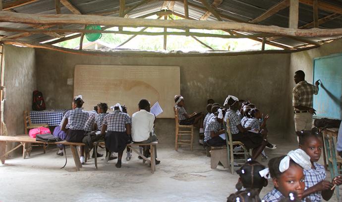 Una de les línies d'actuació del projecte és rehabilitar i ampliar les instal·lacions escolars. Font: ASF