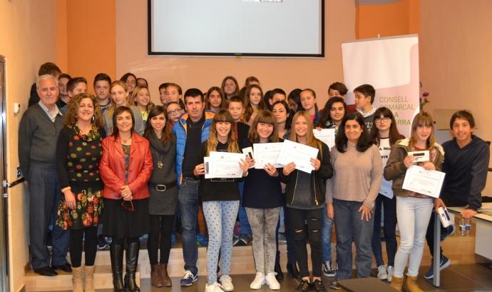 Entrega de premis de l'edició de 2016 Font: Ajuntament de Guissona