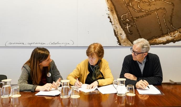 Amb el conveni es vol aconseguir la cessió de 426 habitatges per part de particulars Font: Ajuntament de Barcelona