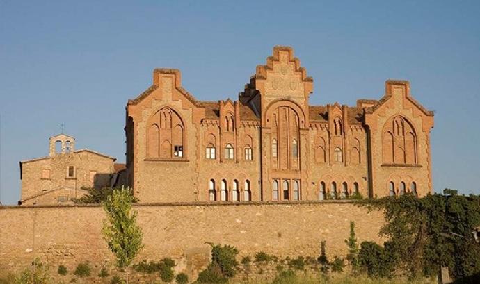 Imatge del convent de Santa Clara de Manresa