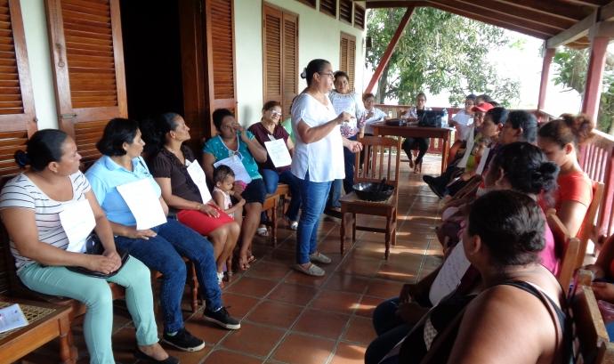 L'equip de Desos a Nicaragua Font: Desos