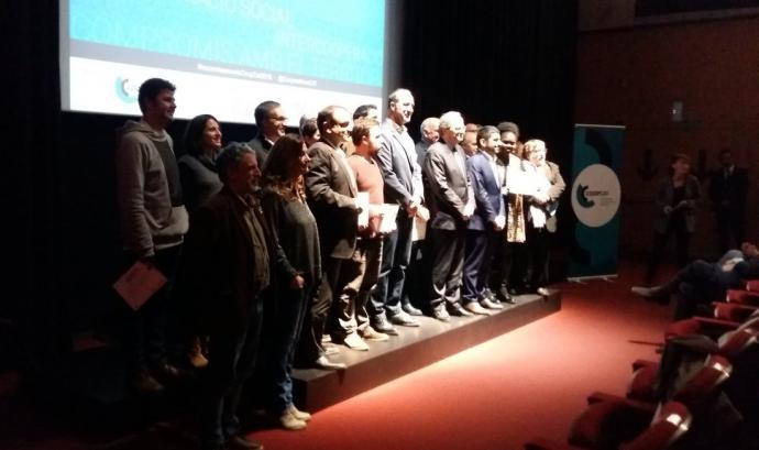 El lliurament dels premis es va fer el 14 de desembre a la Filmoteca de Catalunya Font: CoopCat