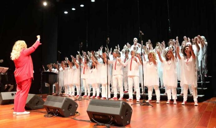 l Cor Carlit és la formació de gospel més antiga de l'Estat espanyol. Font: Cor Carlit