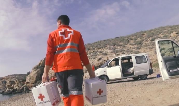 Creu Roja ha fet una crida de voluntariat. Font: Creu Roja de Catalunya