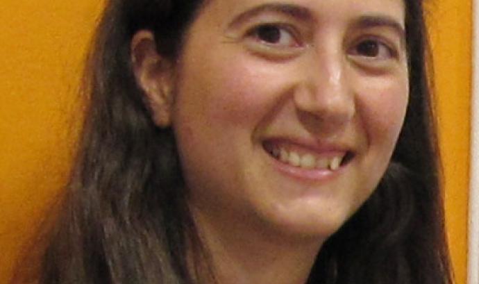Cristina Delgado, gestora de projectes de la Federació de Cooperatives de Treball de Catalunya.  Font: Federació de Cooperatives de Treball de Catalunya