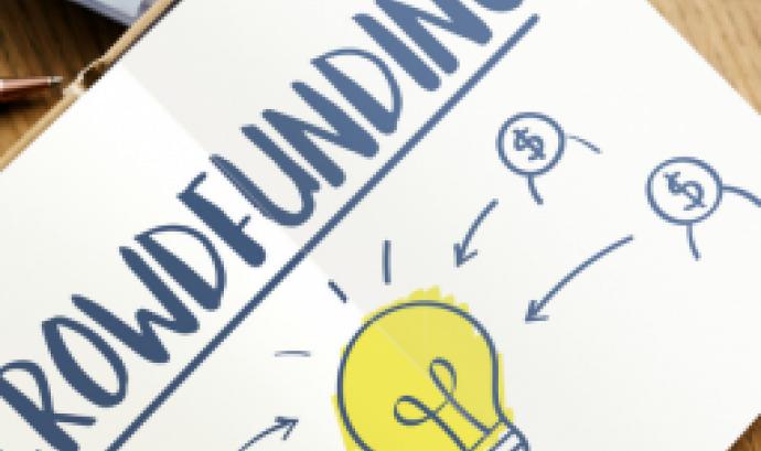 il·lustració sobre crowdfunding