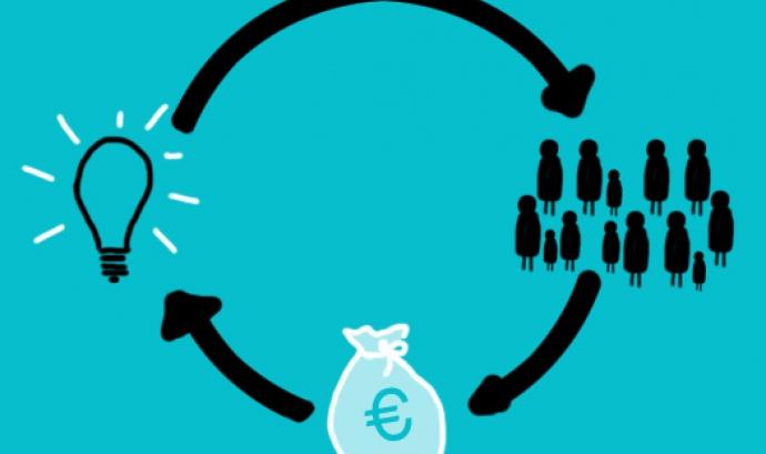 Crowdfunding. Imatge CC BY-SA 2.0 de Rocío Lara (Flickr) Font: